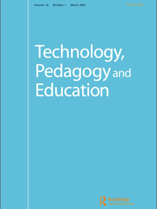 'You should collaborate, children': A study of teachers' design and facilitation of children's collaboration around touchscreens